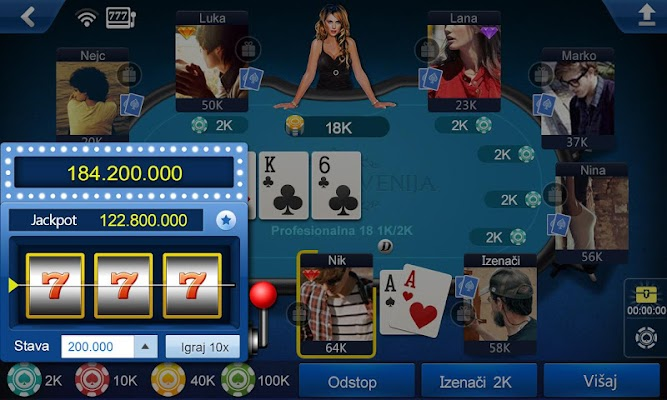 Poker Slovenija - screenshot