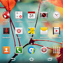 CM11 CM10 GALAXY S4 Red theme icon