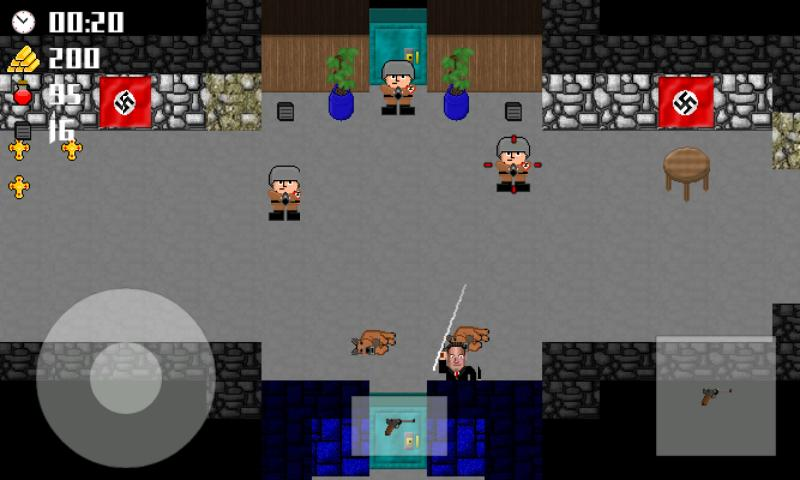 Vogelstein 2D- screenshot