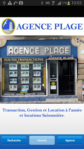 Agence plage