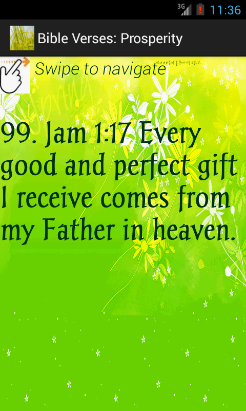Daily Christian Bible Verses - screenshot