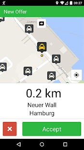 mytaxi Driver App- screenshot thumbnail