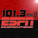 101.3 ESPN logo