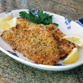 Baked Panko Crusted Fish