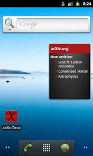 arXiv mobile- screenshot thumbnail