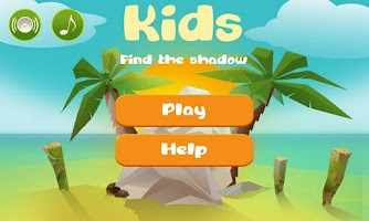 Screenshot of Kids Find the shadow