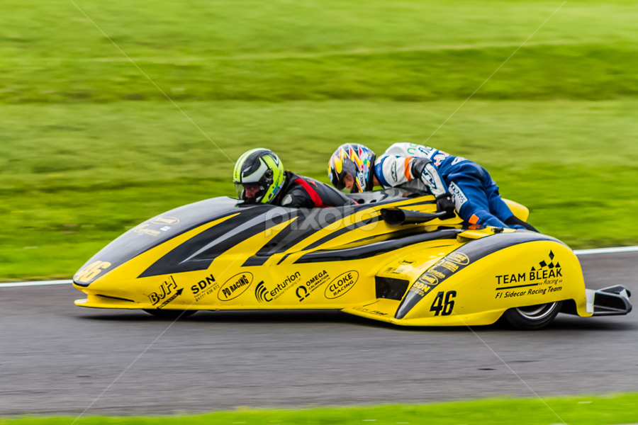 BMCRC  Cadwell Park by Alan  R Dyson - Sports & Fitness Motorsports ( canon, panning, sidecars, motor bikes, race circuit )