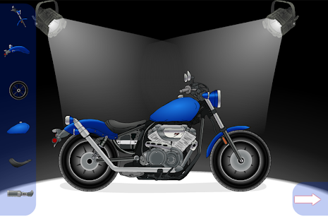 Create A Motorcycle: Classic- screenshot thumbnail