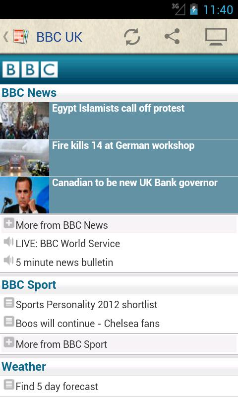 UK Newspapers - screenshot
