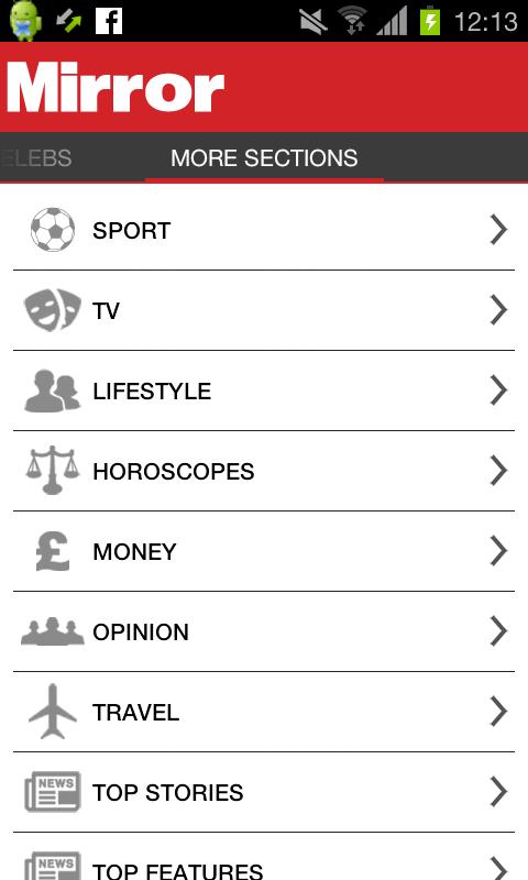 The Mirror App- screenshot
