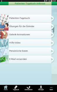 Arthrose-Tagebuch- screenshot thumbnail