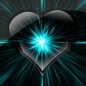 Batery coração brilhante icon