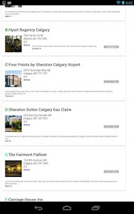 Calgary Offline Travel Guide screenshot 6