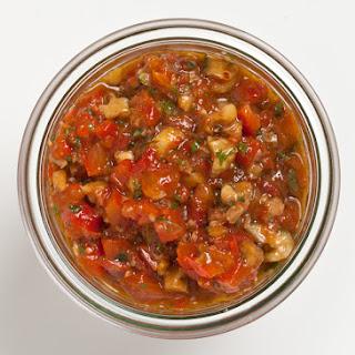 Red Pepper–Walnut Relish