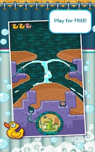 Where's My Water? Free - screenshot thumbnail