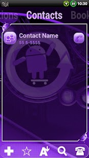 Cyanogen Purple ssLauncher- screenshot thumbnail