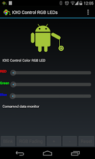 IOIO Bluetooth RGB LED Control- screenshot thumbnail