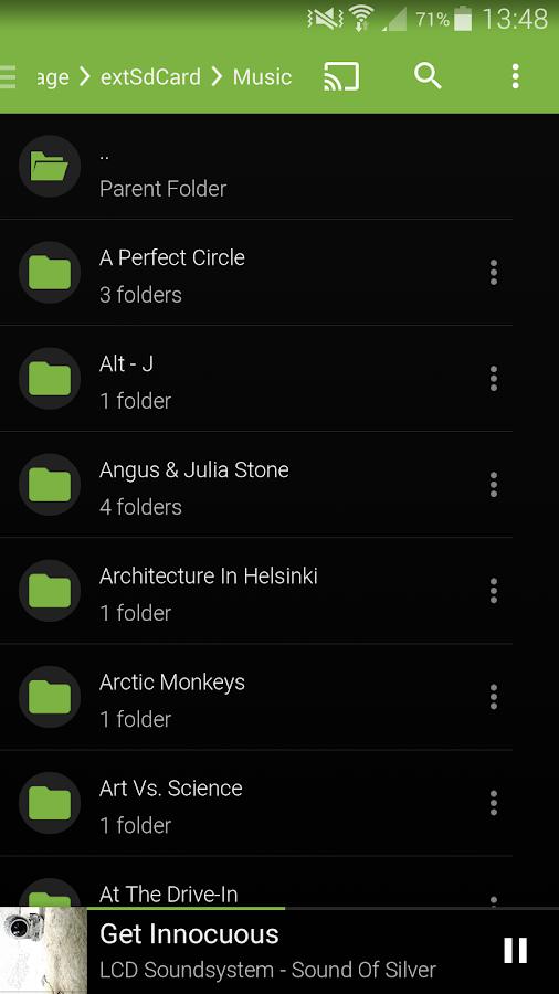 Shuttle Music Player - screenshot