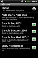 Screenshot of LEDs Hack (ROOT ONLY)