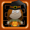 Halloween Witch Pumpkin Maze icon