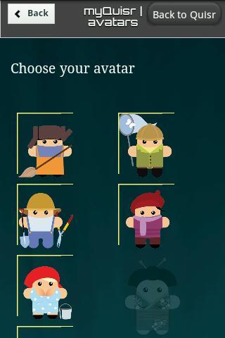 Quisr | 1-2 Player Quiz- screenshot