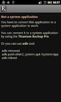 Screenshot of Elixir 2 - System add-on