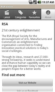 RSA Vision - screenshot thumbnail