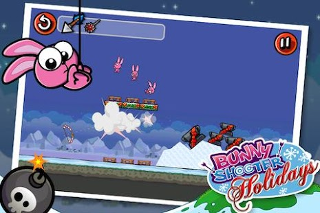 Bunny Shooter Christmas- screenshot thumbnail