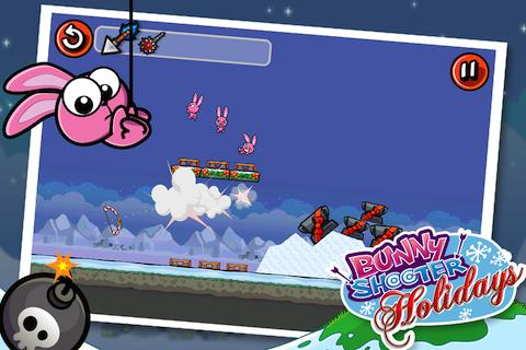 Bunny Shooter Christmas- screenshot