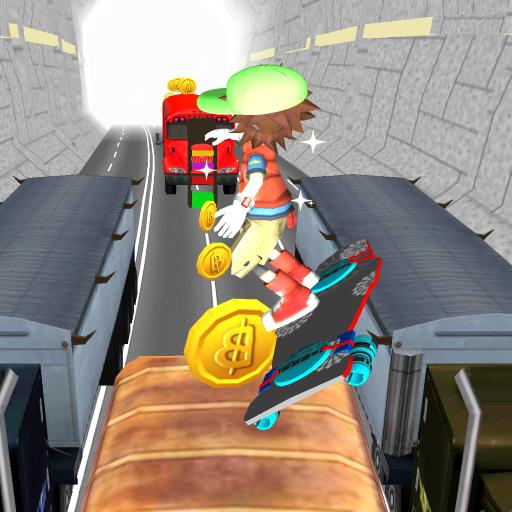 地鐵Hoverboard運行2 LOGO-APP點子