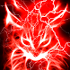 Red Glowing Hellfire Kitty LWP