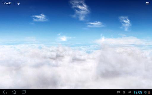 Blue Skies Live Wallpaper  screenshot