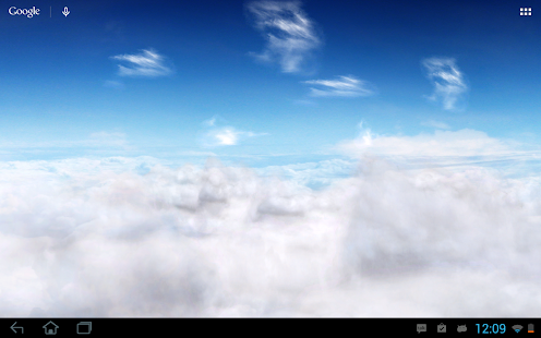 Blue Skies Free Live Wallpaper - screenshot thumbnail