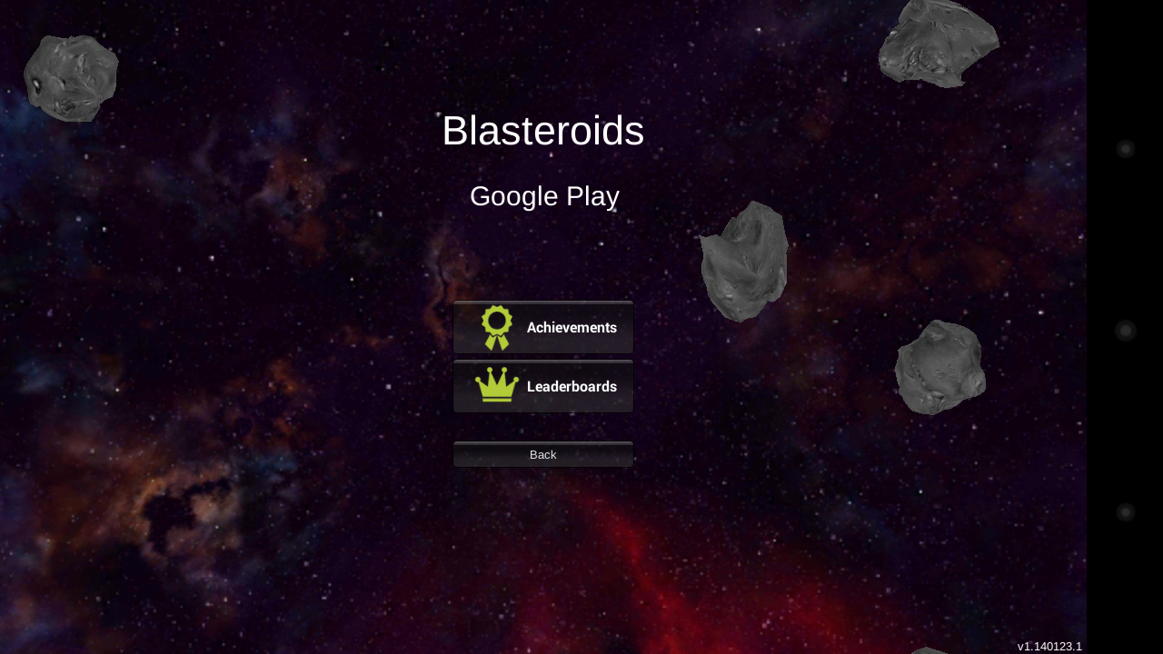 Blasteroids- screenshot