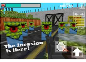 Screenshot of Block Gun 3D - Minecraft Style