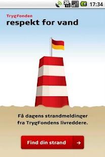 Strandvejr fra Trygfonden – miniaturescreenshot