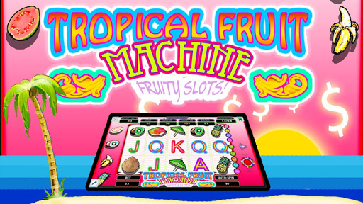 Tropical fruit party slots