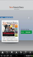 Screenshot of NST Digital
