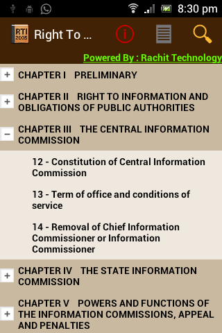 Right To Information 2005