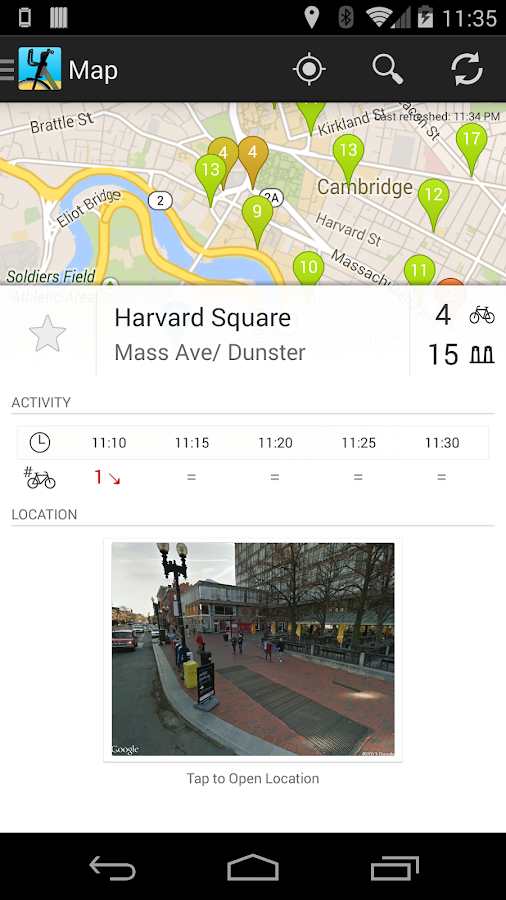 Moyeu (for Hubway) - screenshot