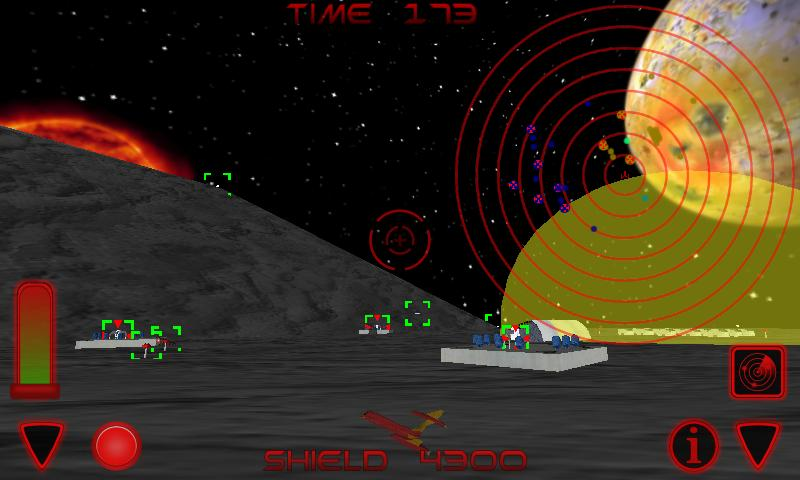 Space Sharks - 3D Shooter Free- screenshot
