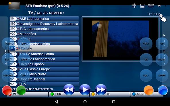 IPTV STB Emulator Pro v0.7.11