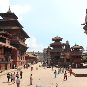 patan-a world heritage site by Raj Tandukar - Buildings & Architecture Public & Historical