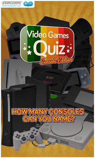 Consoles Video Games Quiz