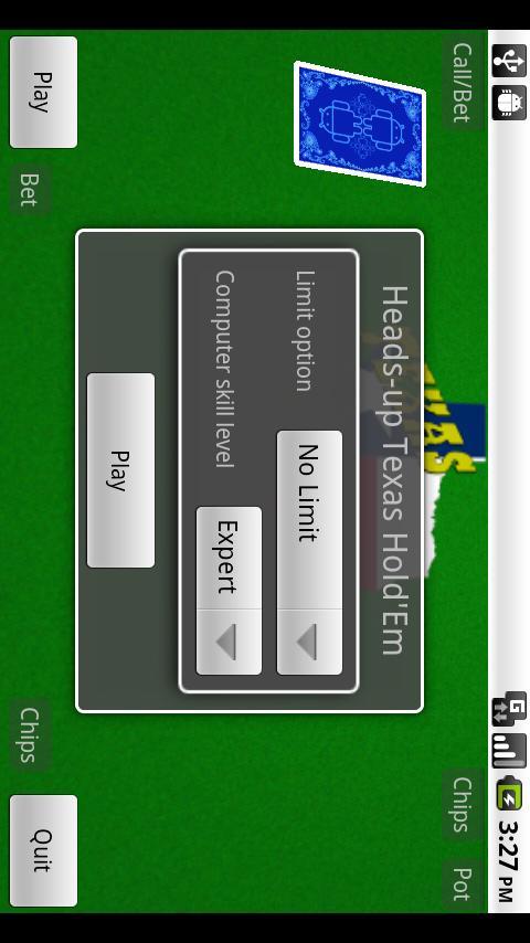 Texas Hold'Em - screenshot