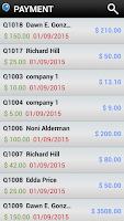 Screenshot of Invoice & Billing