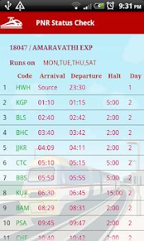 PNR Status - Indian Railways