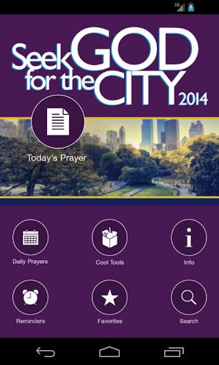Seek God for the City 2014