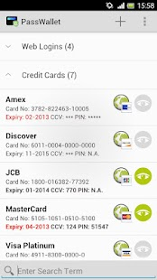 PassWallet 1.0 - screenshot thumbnail