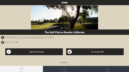 Golf Club at Rancho California